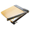 Paper Trimmers Blades Rotary Trimmers: Westcott® TrimAir Guillotine Wood Trimmer with Microban® Protection