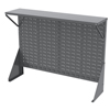 Akro-Mils Single-Sided Low Profile Louvered Floor Rack with Shelf AKR 30650GY