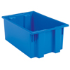 storage: Akro-Mils - 19.5 inch Nest & Stack Totes