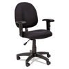 Alera Alera® Essentia Series Swivel Task Chair with Adjustable Arms ALE VTA4810