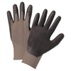 hand protection: Anchor Brand® Nitrile Coated Gloves