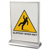 Artistic LED Two-Sided Countertop Display Sign AOP 34100