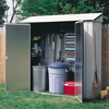 Storage Sheds: Arrow Sheds - Storage Locker 7'x2'