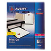 Avery Avery® Print-On™ Dividers AVE 11528