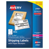 Avery Avery® Shipping Labels with Paper Receipt Bulk Pack AVE 27901