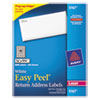 Avery Avery® Easy Peel® Return Address Labels AVE 5167