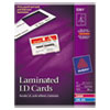 Avery Avery® Laminated ID Cards AVE 5361