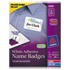 Avery Avery® Removable Adhesive Name Badges AVE 5395