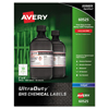 Avery UltraDuty™ GHS Labels for Hazardous Materials and Workplace Safety AVE 60525