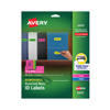 Avery Avery® Removable Self-Adhesive Color-Coding Labels AVE 6479