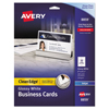 Avery Avery® Clean Edge® Printable Business Cards AVE 8859