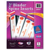 Avery Avery® Custom Binder Spine Inserts AVE 89107