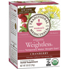 Traditional Medicinals Organic Weightless® Cranberry Tea BFG 30643