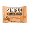 Simple Squares Organic Snack Bar - Ginger, Honey & Nuts BFG 35447