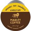 organic snacks: Marley Coffee - Lively Up! Espresso Roast Single Serve Coffee