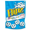 Flipz Birthday Cake Covered Pretzels BFV DCC00048