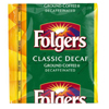 Folgers Coffee Decaf Classic Roast Cinch BFV SMU06128