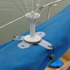 bird repellents: BirdBGone - Spinning Bird Spider® Boat Base