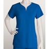 Grey's Anatomy Signature Womens Jr. 2-Pocket Notch Neck Scrub Top BRC 2121-08-XS