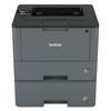 printers and multifunction office machines: Brother HL-L5200DWT Business Laser Printer with Wireless Networking, Duplex and Dual Paper Trays