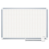 MasterVision MasterVision® Grid Platinum Plus Dry Erase Board BVC CR0830830