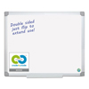 Bi-Silque MasterVision® Earth Silver Easy Clean Dry Erase Boards BVC MA2100790