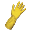 Boardwalk Flock-Lined Latex Cleaning Gloves BWK 242S