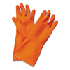 Boardwalk Boardwalk® Flock-Lined Latex Cleaning Gloves BWK 244M