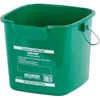 rubbermaid 30 gallon bucket: Carlisle - 3 qt Square Suds-Pail - Green
