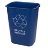recycling and trash liners: Carlisle - Recycle Wastebasket 41.25 Quarts