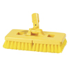 floor brush: Carlisle - Floor Scrub Brush with Stiff Polypropylene Bristles