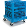 dollies: Carlisle - E-Z Glide™ Warewashing Rack Dolly Without Handle
