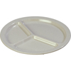 Disposable Plates Plastic Plates: Carlisle - Kingline™ 3-Compartment Plate