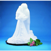 Carlisle Ice Sculptures Bride And Groom - White CFS SBG102CS