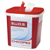 cleaning chemicals, brushes, hand wipers, sponges, squeegees: Chicopee® S.U.D.S.™ Single Use Dispensing System Towels