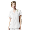 scrubs: Carhartt - Women's Rugged Flex® V-Neck Media Scrub Top