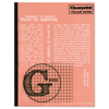 Chartpak Clearprint® Design Vellum Field Book CLE CVB8511G