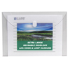 C-Line Products Biodegradable Reusable Poly Envelope, Side Load, Clear CLI 35107BNDL5PK