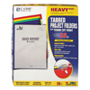 C-Line Products Project Folders w/Index Tabs, Assorted Colors CLI 62140