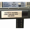 C-Line Products HOL-DEX Magnetic Shelf/Bin Label Holders, 2 Magnetic Label Holders CLI 87247BNDL2BX