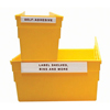 C-Line Products HOL-DEX Permanent Peel & Stick Shelf/Bin Label Holders, 3/4 CLI 87327BNDL2BX
