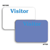 C-Line Products Times Up! Self-Expiring Visitor Badges, Light Sensitive Badge, 3 x 2 CLI 97014