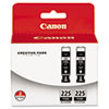 Canon Canon 4530B007AA (PGI-225) Ink Tank, 38 mL , Black, 2/Pack CNM 4530B007AA