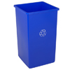 Smokers'-outpost-trash-receptacles: Continental - Swingline™ Square Recycling Receptacles