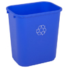 recycling and trash liners: Continental - Rectangular Recycling Wastebaskets