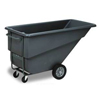 Janitorial Carts, Trucks, and Utility Carts: Continental - 1.1 Cubic Yard Heavy Duty Tilt Truck (Program #N1312)