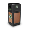 Recycling Containers: Commercial Zone Products - StoneTec Recycle 42 Gallon