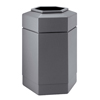 Commercial Zone Products 30-Gallon Hexagon Waste Container CZP 737103