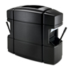 waste receptacles: Commercial Zone Products - Rectangular 3 In 1 Waste 'N Wipe Windshield Service Center