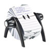 Durable Office Products Durable® TELINDEX® Flip Rotary Address Card File DBL 241601